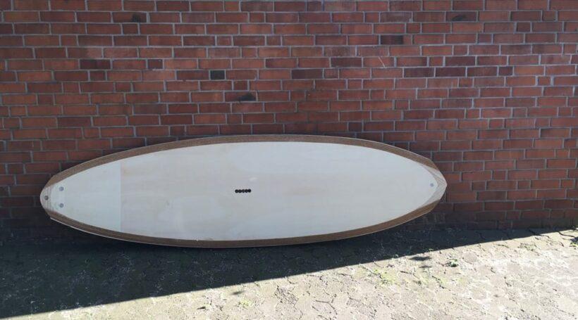 Wooden Allround SUP 9,1