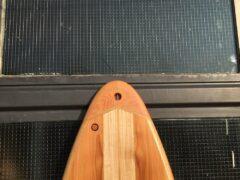 Tail aus Western Red Cedar Holz