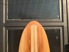 Nose aus Western Red Cedar Holz