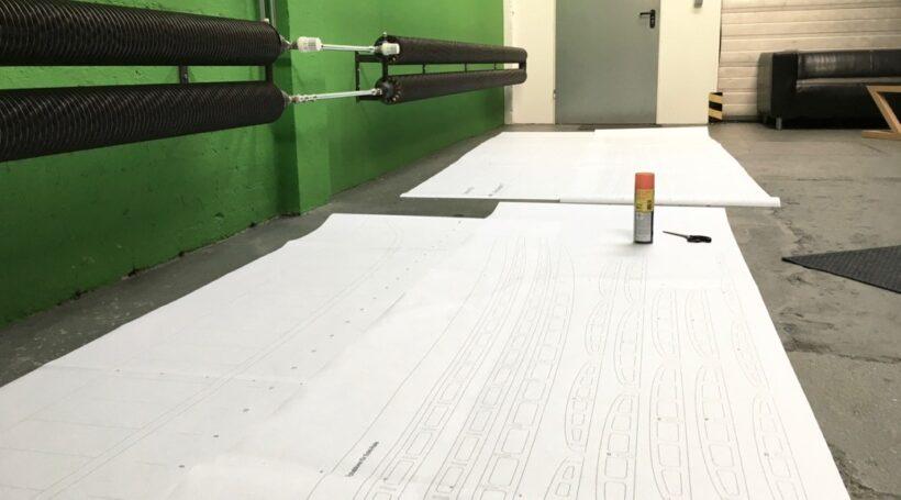 Pläne für Longboards in Hollow-Wood-Bauweise