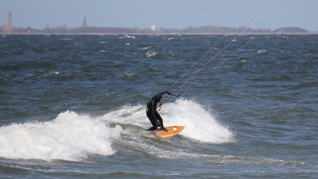 Wellenreiten in Heiligenhaden