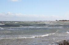 Windsurfer in Heiligenhafen