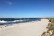 Heidkate Strand - Blick nach Osten