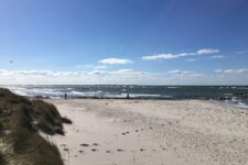 Heidkate Strand - Blick nach Westen