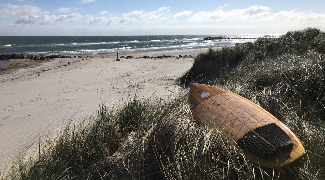 5,8er Kite-Surfboard in Kalifornien bei Kiel