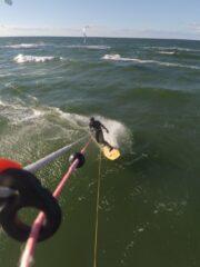 Chilliges Wellenreiten mit dem breiten NoNose-Board