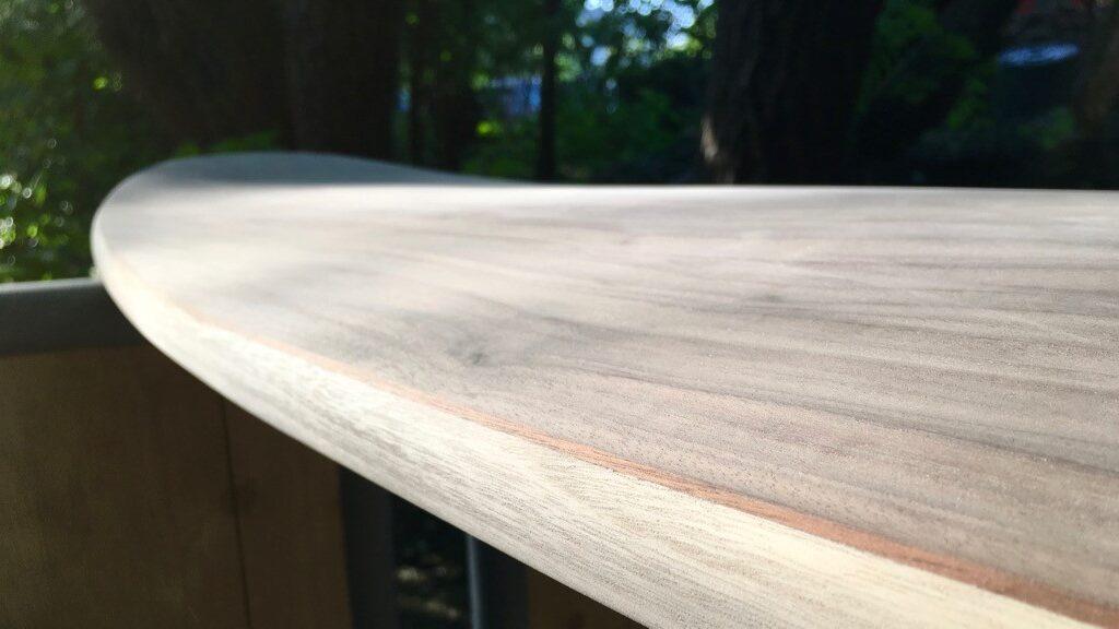 Solid Rails mit verschiedenen Holzarten