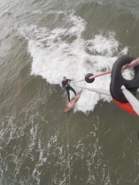 Kitesurf-Praxistest der neuen Kork-Pads