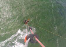 Kitesurfen mit dem Holz-Twintip