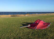 10er Kite und Asymmetrical