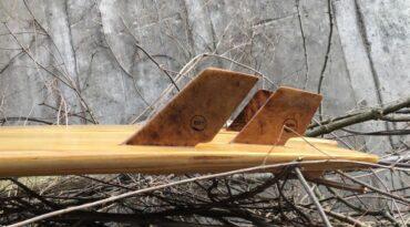 Holzfinnen für Shortboards