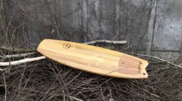 Leichtes 5,3′ NoNose-Surfboard mit XPS-Kern