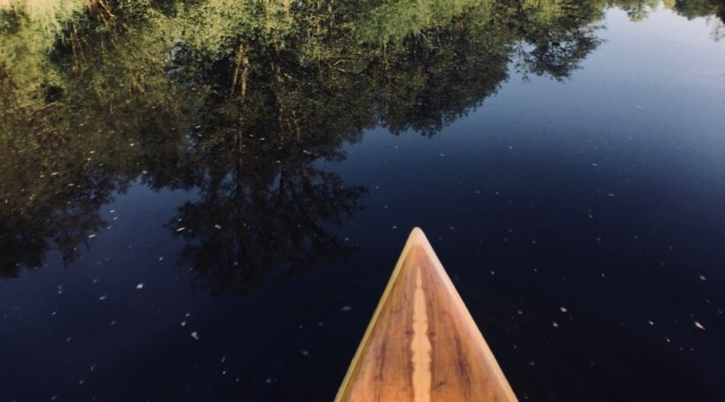 Wooden SUP Nose