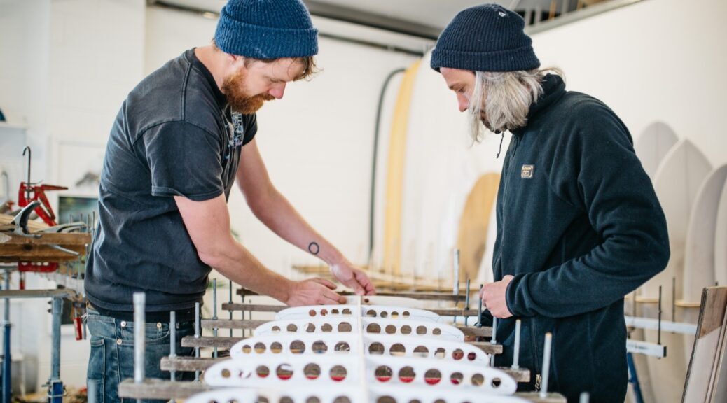 Selbstbau-Kurse mit Arbo Surfboards