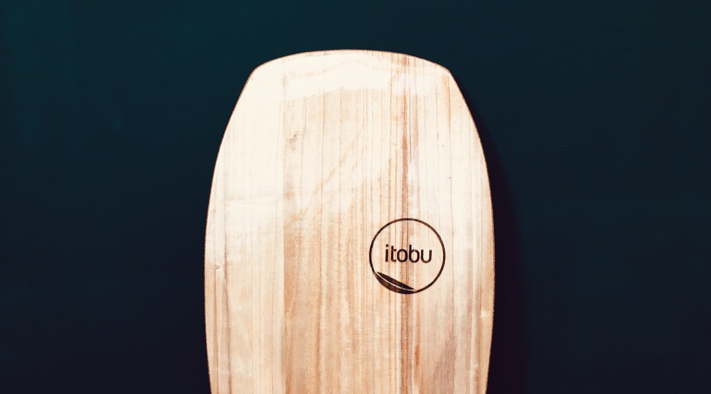 Nose des 5,2' Paipo-Surfboards aus Paulownia