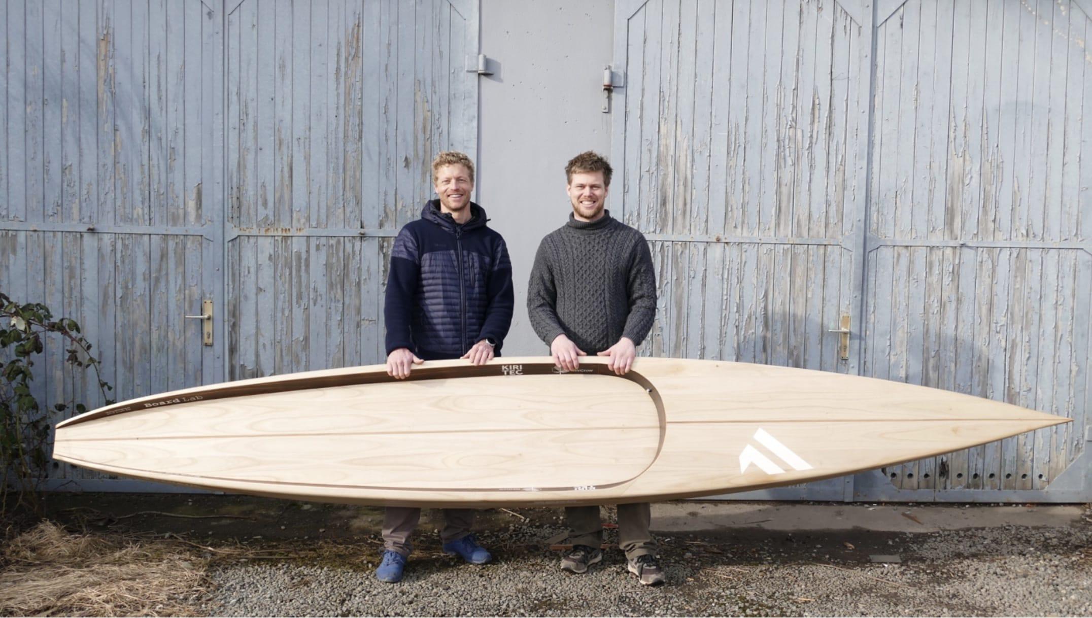 Michael Walther und Jannek Grocholl mit nachhaltigem SUP