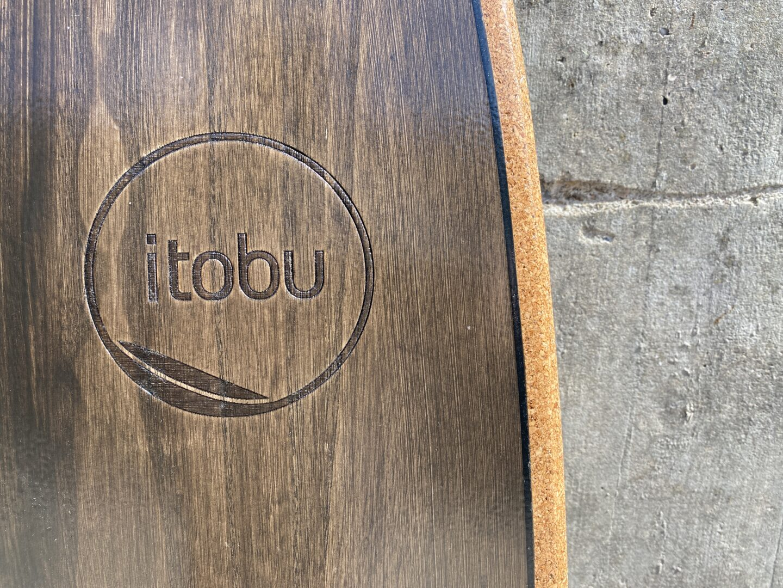 Gelasertes itobu-Logo