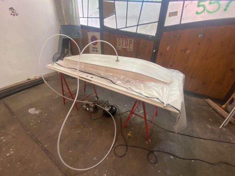Wing Foil Board im Vakuumsack